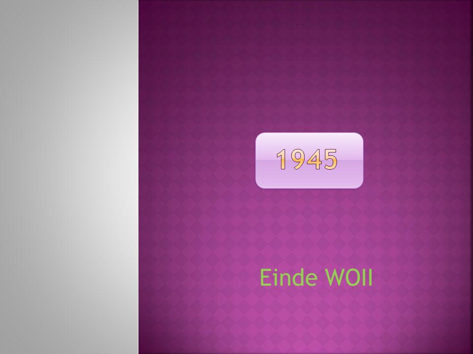 Einde WOII