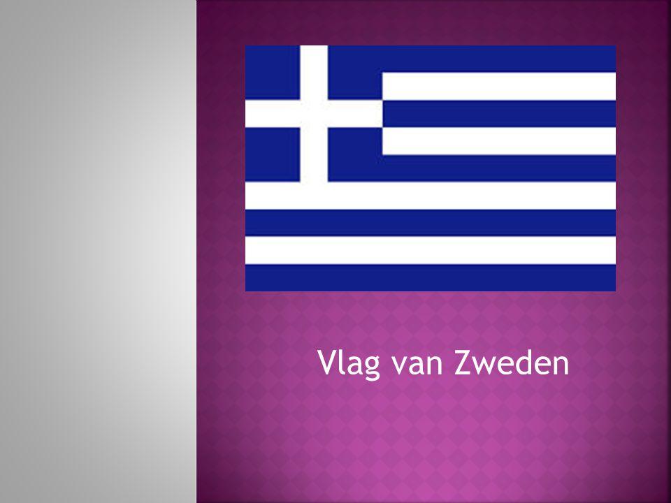 Vlag van Zweden