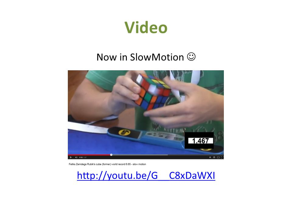 Video Now in SlowMotion http://youtu.be/G__C8xDaWXI
