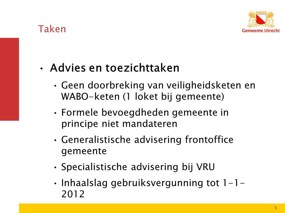 Facilitaire Zaken en Shared Service Centra Inventarisatie huidige dienstverlening binnen GU aan dienst BW  Continuïteit van de bedrijfsvoering van Brandweer Utrecht/VRU  Beperken operationele gevolgen