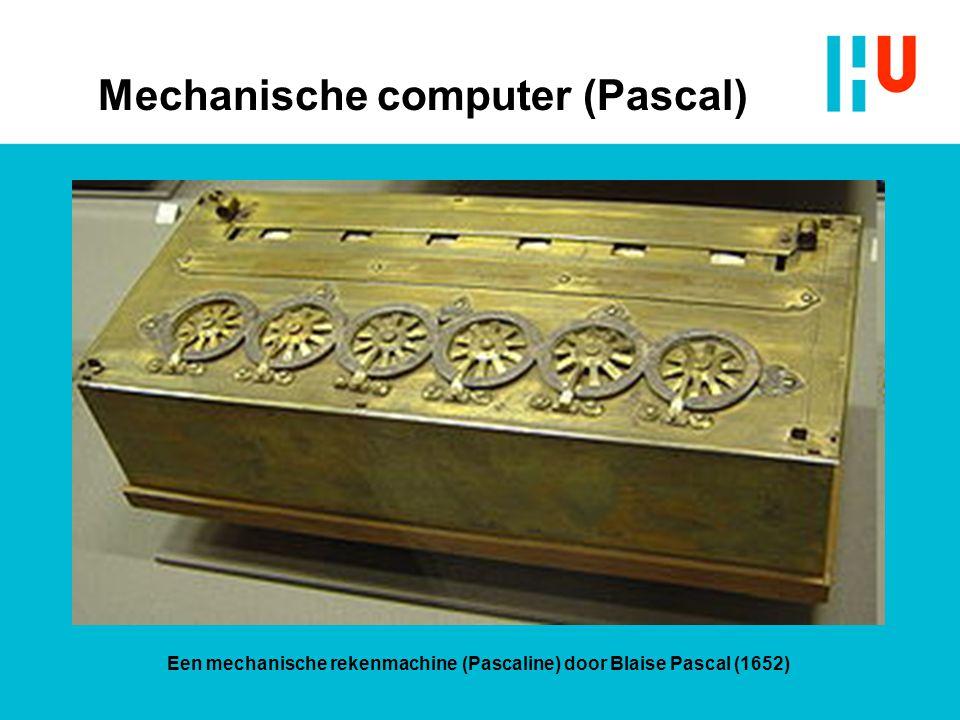 Mechanische computers ? The Jacquard loomDraaiorgel De Turk speelt marsmuziek