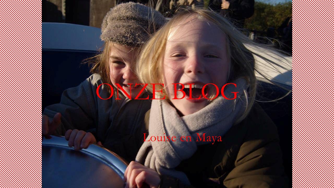 ONZE BLOG Louise en Maya