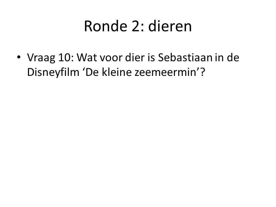 Ronde 2: de antwoorden Vraag 1: een lammetje Vraag 2: de slagtanden Vraag 3: de ooievaar Vraag 4: B: de dieren worden verboden in het circus.