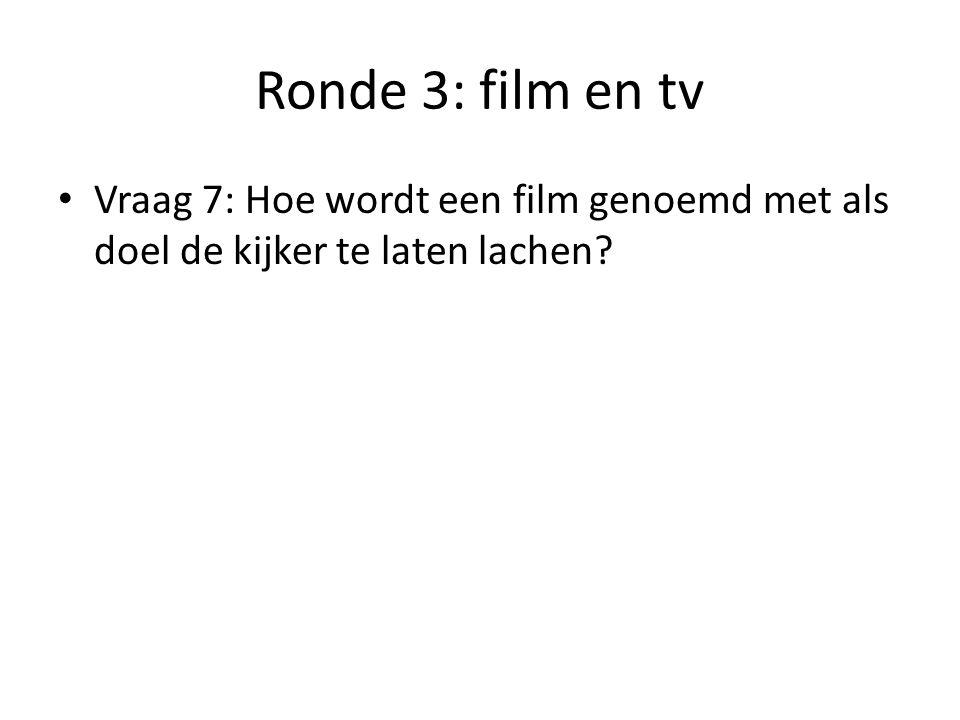 Ronde 3: film en tv Vraag 8: Wat is de naam van de pratende ezel uit Shrek?