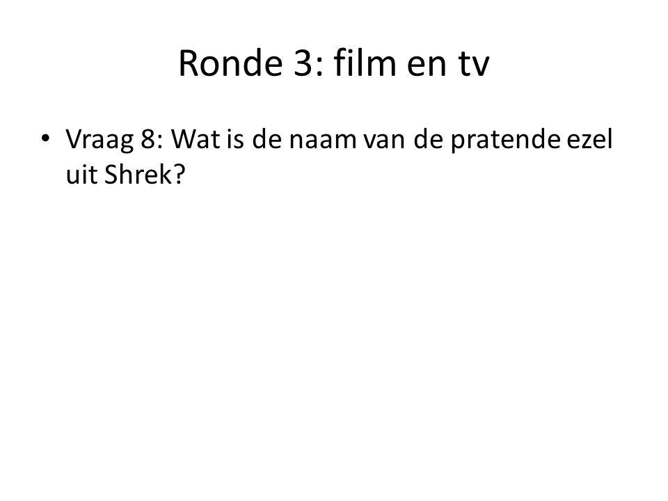 Ronde 3: film en tv Vraag 9: Welke smurf begint zijn zin meestal met 'ik haat…'