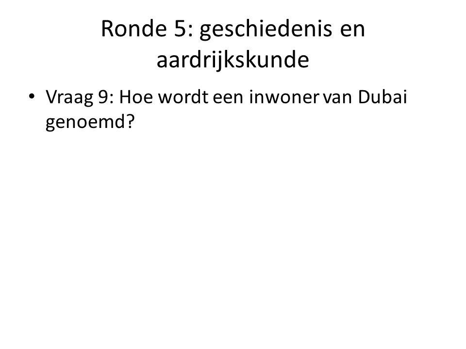 Ronde 5: geschiedenis en aardrijkskunde Vraag 10: Hoe heette de vader van Anne Frank?