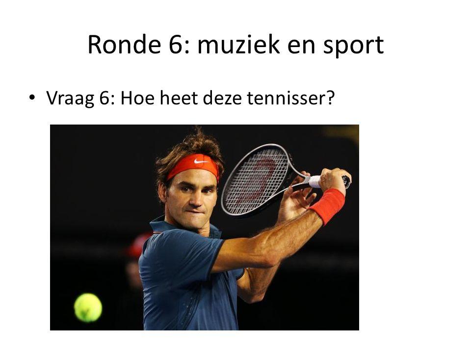 Ronde 6: muziek en sport Vraag 7: Welke trui mag de wereldkampioen wielrennen dragen?