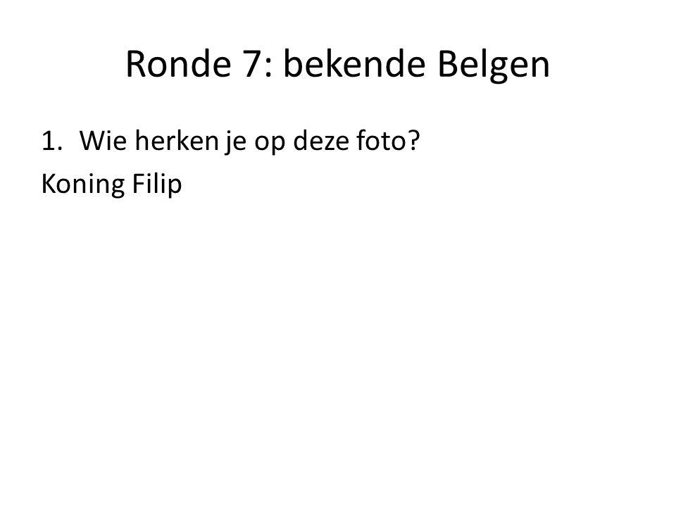 Ronde 7: bekende Belgen 2. Wie herken je op deze foto? Boma