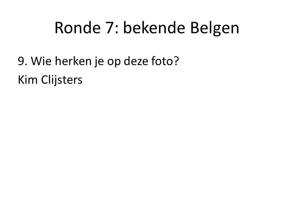 Ronde 7: bekende Belgen 10. Wie herken je op deze foto? Di Rupo