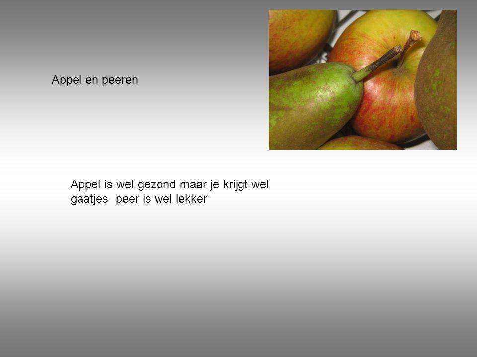 Snoep fruit Zoals je ziet heb je ook snoep fruit