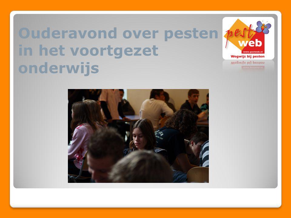 Agenda Informatie over pesten Wat doen jongeren online.