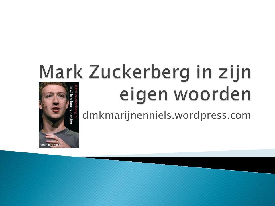  Brief door Mark Zuckerberg bij de beursintroductie in 2012  Citaten van en over Mark Zuckerberg  Mijlpalen Facebook