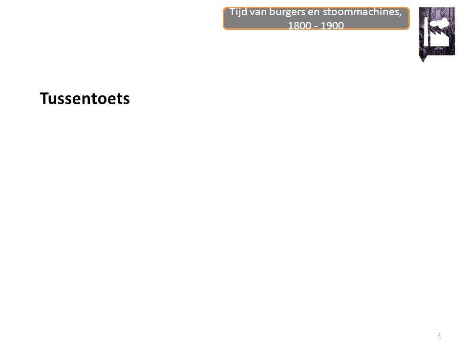 Tijd van burgers en stoommachines, 1800 - 1900 5 Industrialisatie van Nederland: ontdekken Lezen HB pagina 58 + 59 onder Nederland loopt achter Hoe komt het dat Nederland achterloopt?