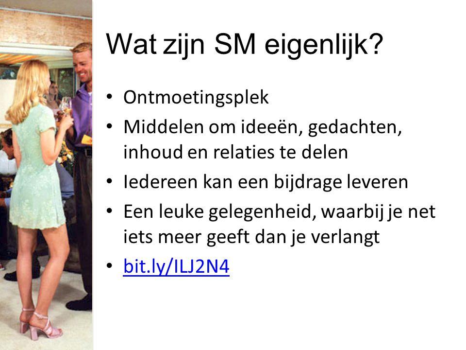 Wat zijn SM eigenlijk.