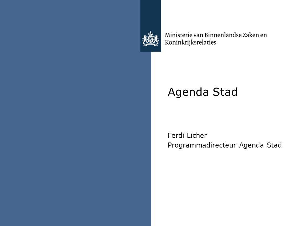 Agenda Stad Ferdi Licher Programmadirecteur Agenda Stad