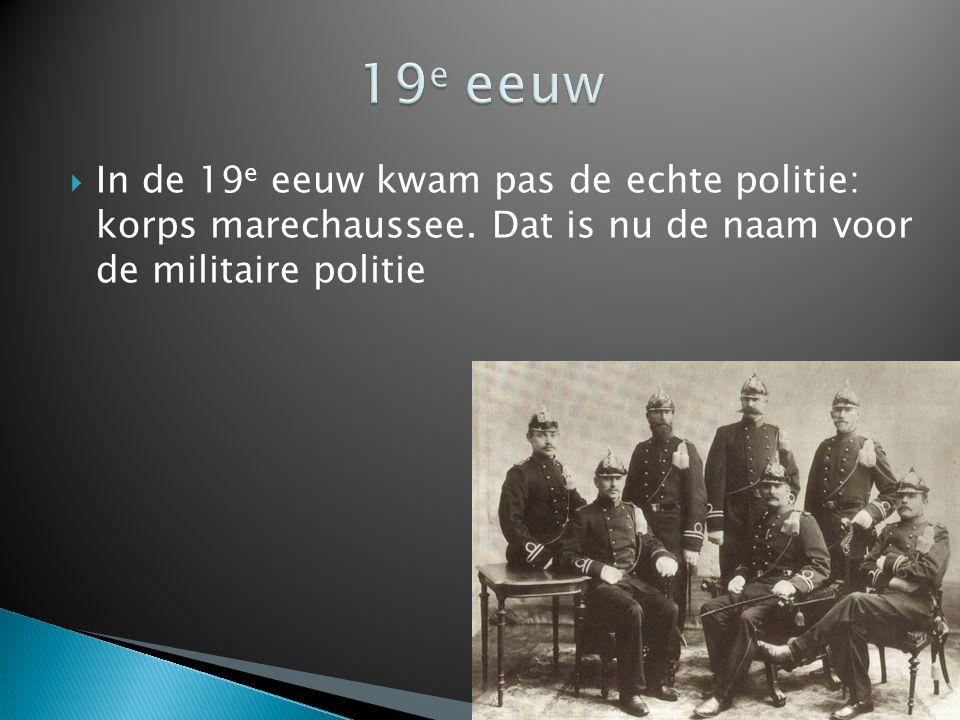  In de oorlog waren de Duitster de baas over de politie.