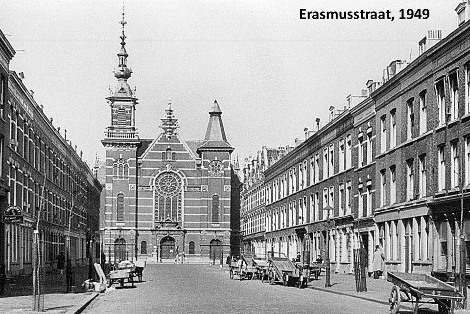 De Laurenskerk net na de oorlog