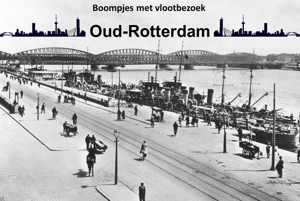 Boompjes met vlootbezoek Oud-Rotterdam