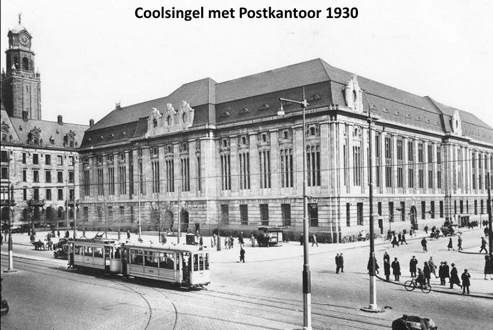 Coolsingel met Postkantoor 1930