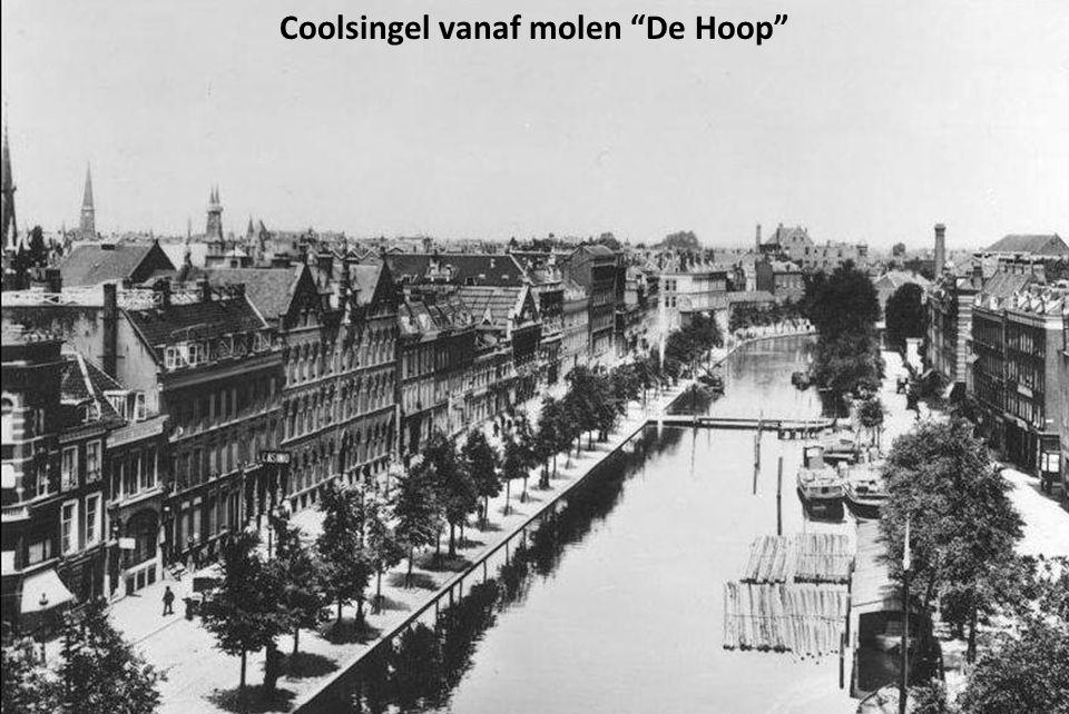 Coolsingel vanaf molen De Hoop