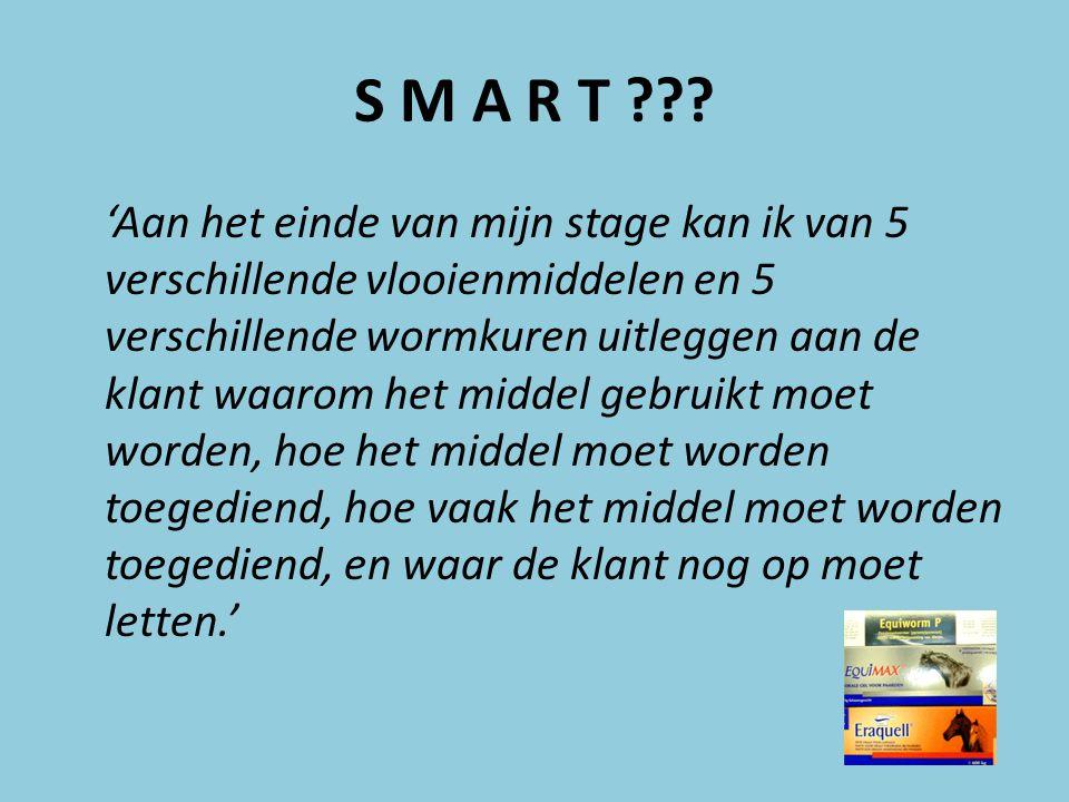 S M A R T ??.