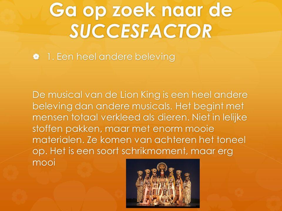 Ga op zoek naar de SUCCESFACTOR  1.