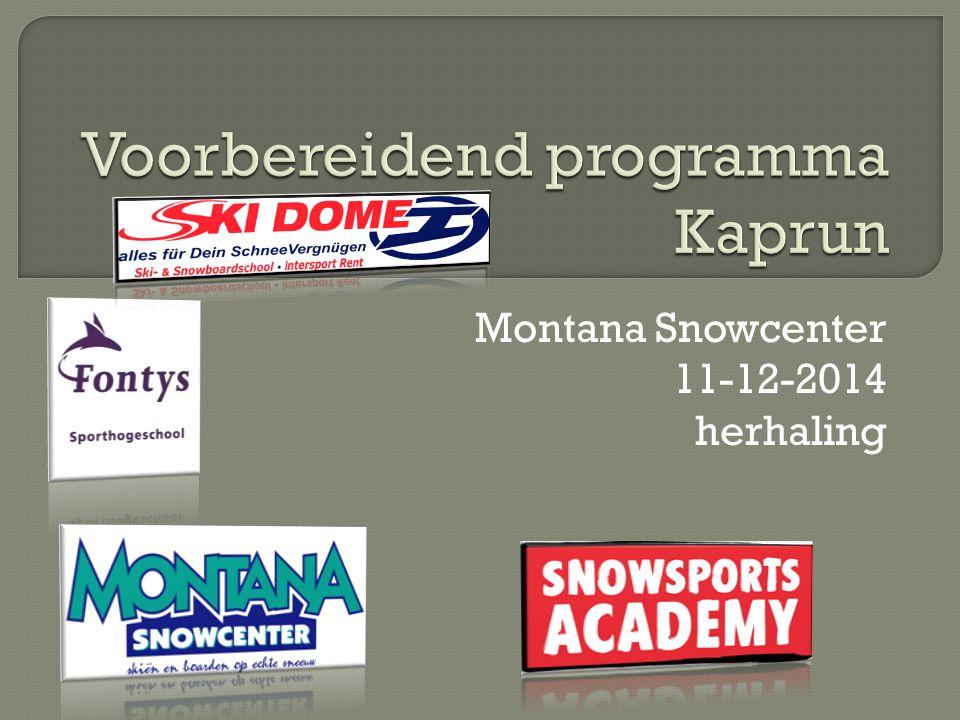 Montana Snowcenter 11-12-2014 herhaling