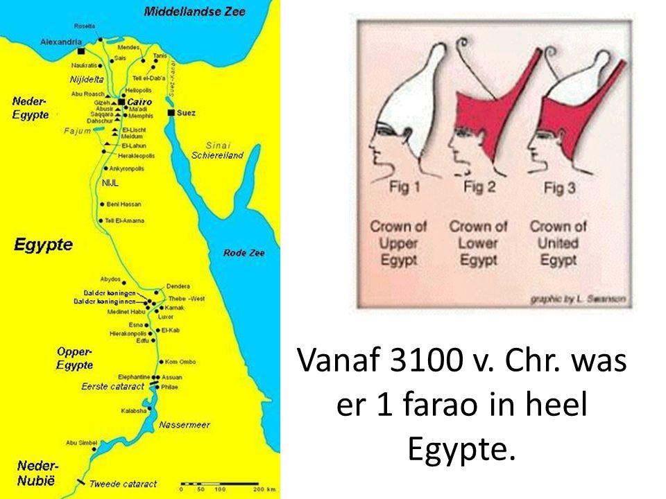 De farao had hulp nodig bij het bestuur.Hiervoor gebruikte hij ambtenaren.