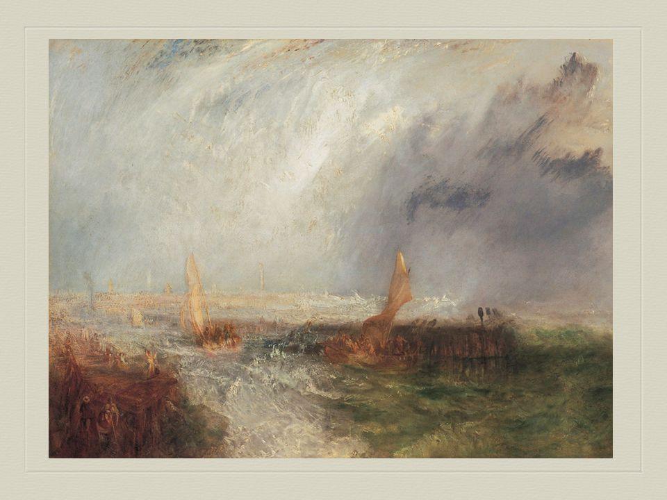 William Turner, geboren in 1775, was een Engelse romantische kunstschilder.