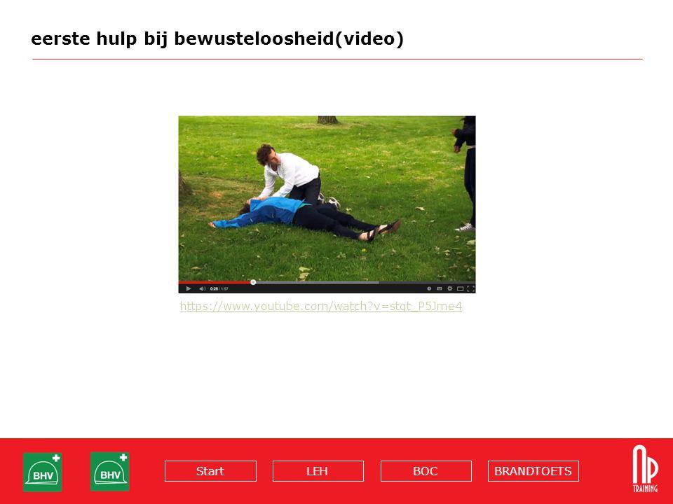 BRANDTOETSBOCLEHStart eerste hulp bij bewusteloosheid(video) https://www.youtube.com/watch?v=stgt_P5Jme4
