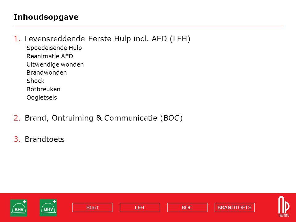 Bedrijfshulpverlening Levensreddende Eerste Hulp incl. AED