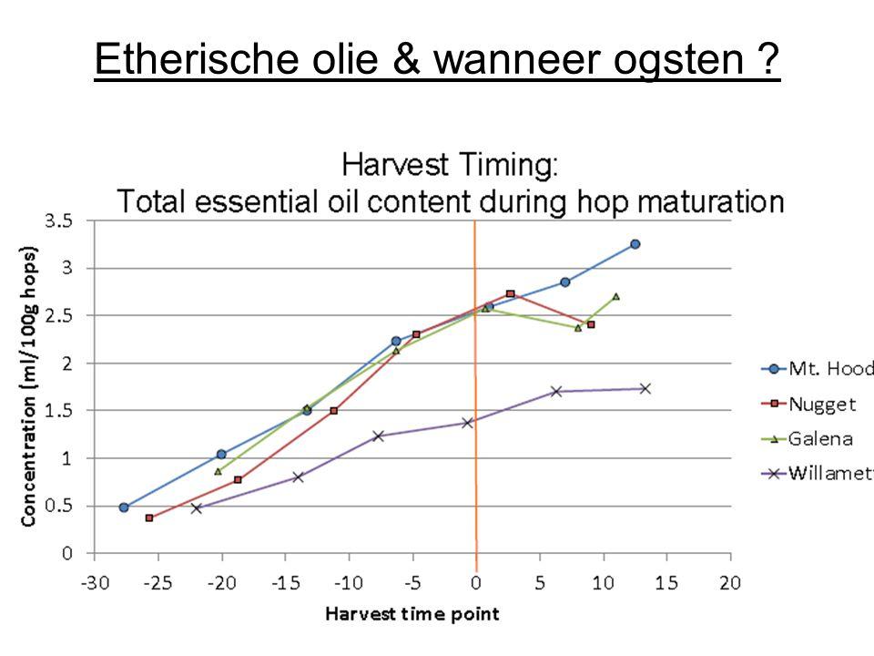 Etherische olie & wanneer ogsten ?
