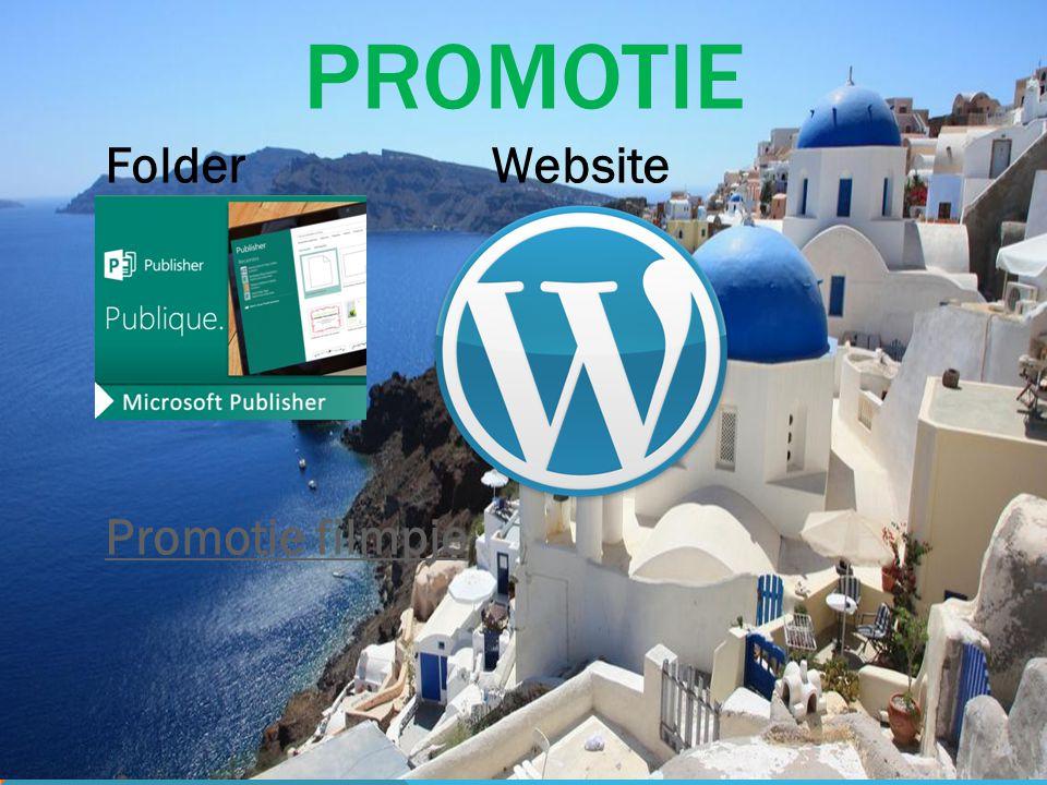 PROMOTIE Folder Website Promotie filmpje