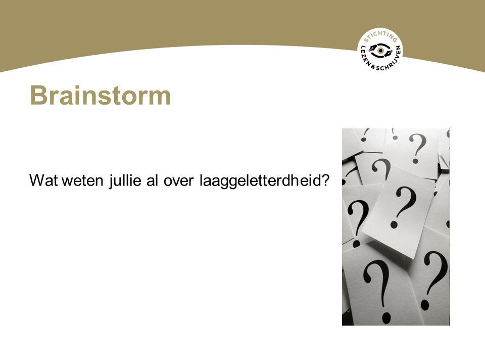 Vraag Hoeveel laaggeletterden tussen 16 en 65 jaar zijn er in Nederland.