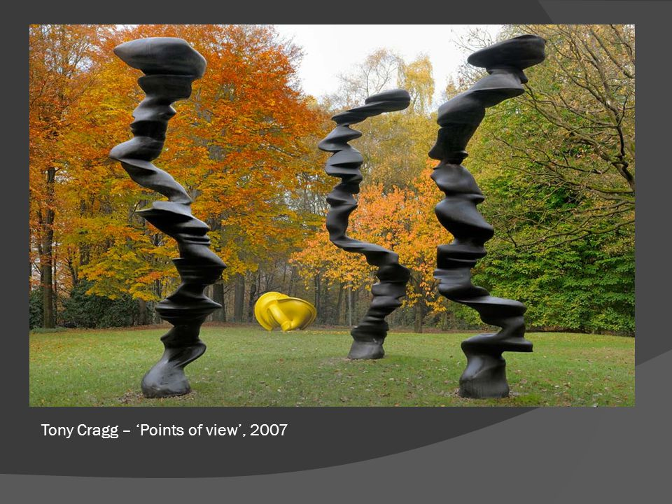 Tony Cragg – 'Points of view', 2007