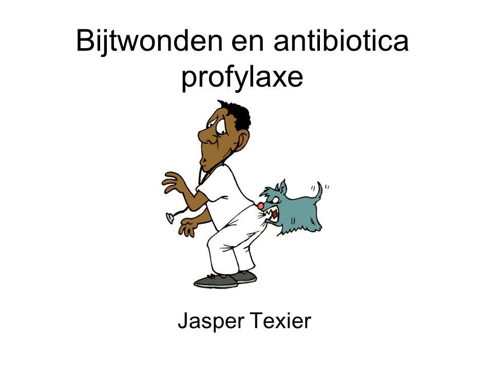 Bijtwonden en antibiotica profylaxe Jasper Texier