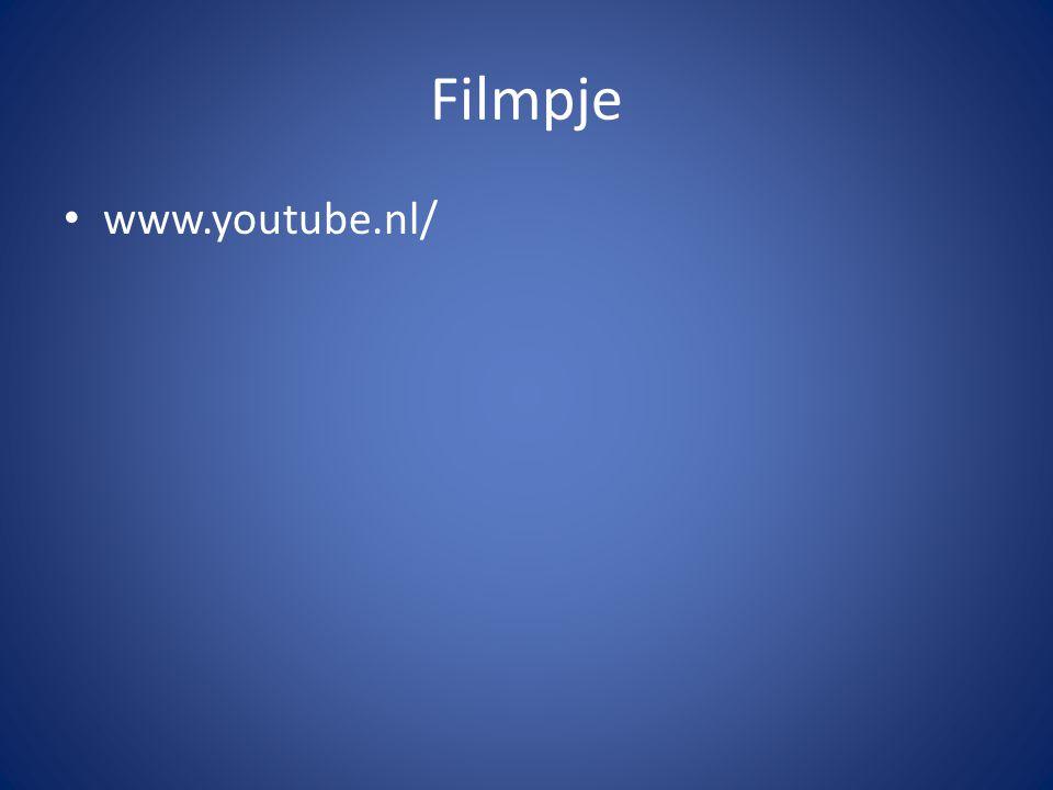 Filmpje www.youtube.nl/