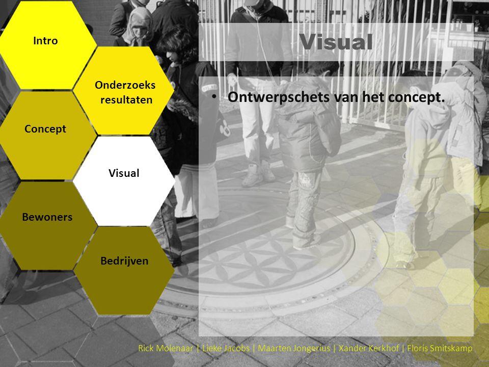 Visual Intro Onderzoeks resultaten Concept Visual Bewoners Bedrijven Rick Molenaar | Lieke Jacobs | Maarten Jongerius | Xander Kerkhof | Floris Smitsk