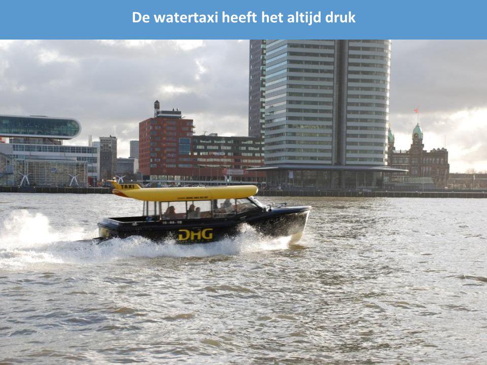 Vanaf de andere kant van de Nieuwe Maas (Willemskade)