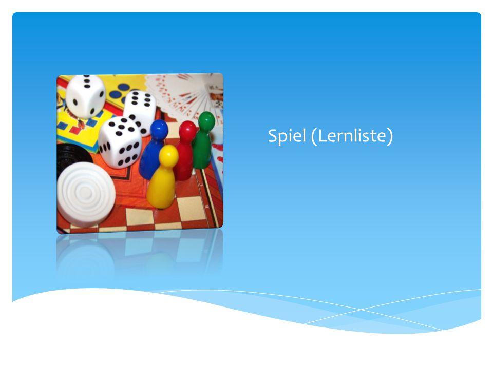 Spiel (Lernliste)