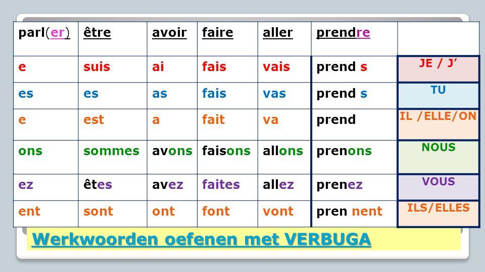 Delend lidwoord Extra oefeningen: 1.L'article partitifL'article partitif le= du la= de la l'= de l' les= des Wanneer wel.