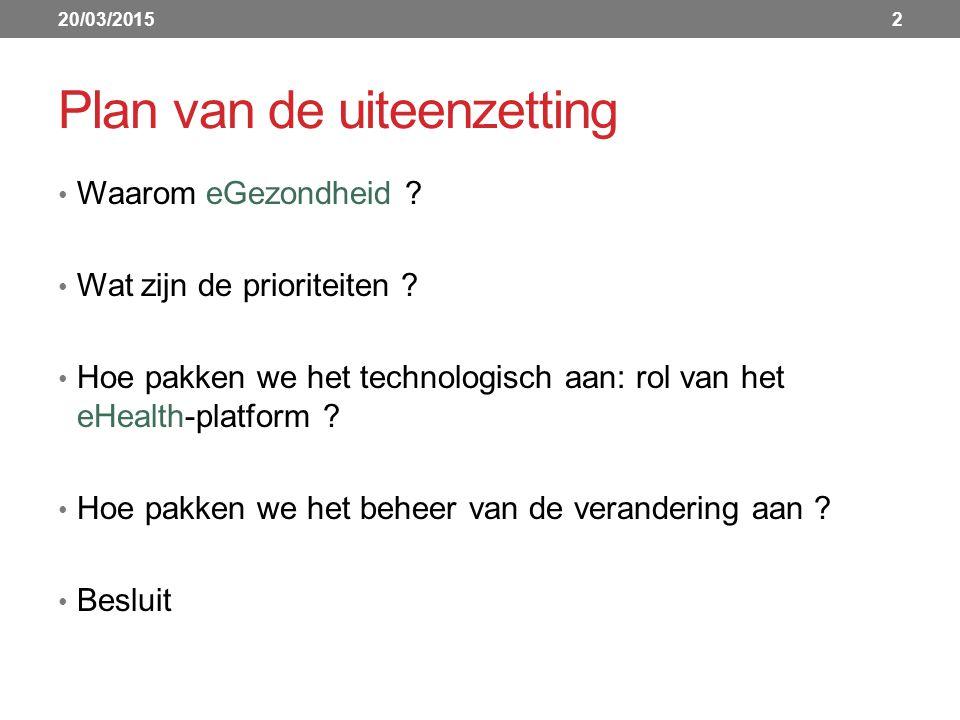 Doelstellingen eHealth-platform Hoe.