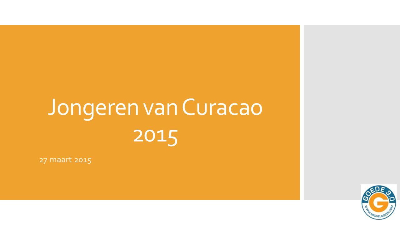 jeugdbeleidsplan Curaçao 2006 - 2009  Op Curaçao1 valt ongeveer 25% van de totale bevolking onder de categorie 0 – 24 jarigen, oftewel de doelgroep jeugd.
