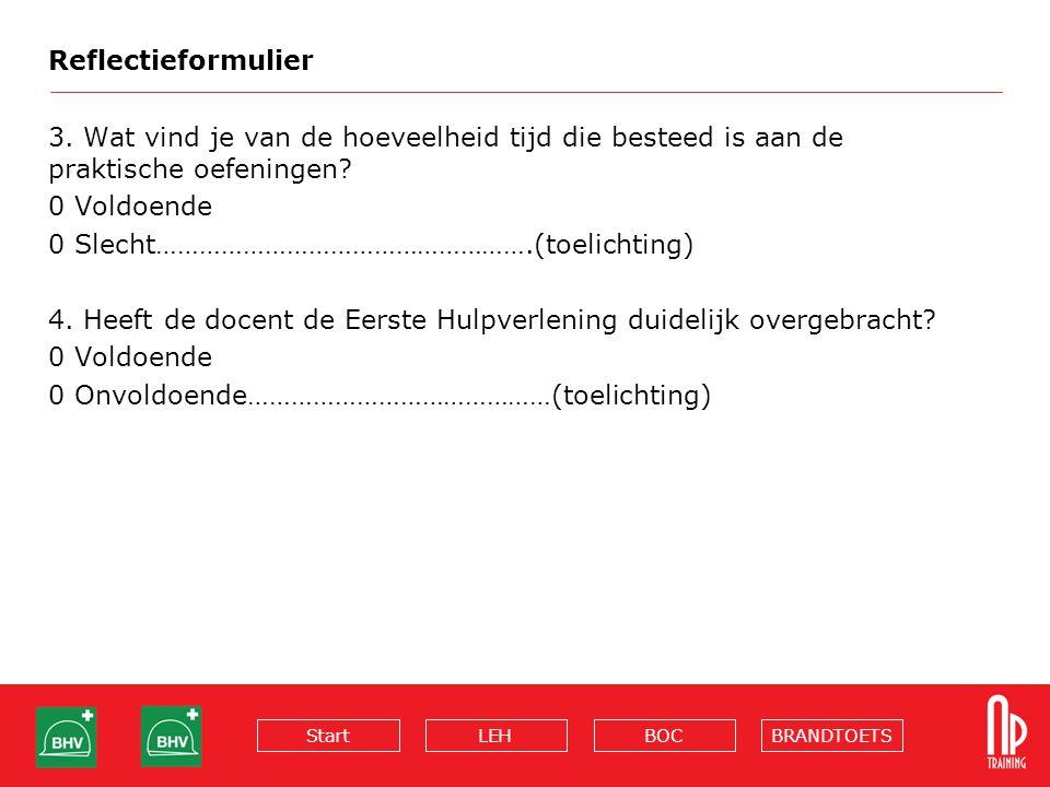 BRANDTOETSBOCLEHStart Reflectieformulier 3.