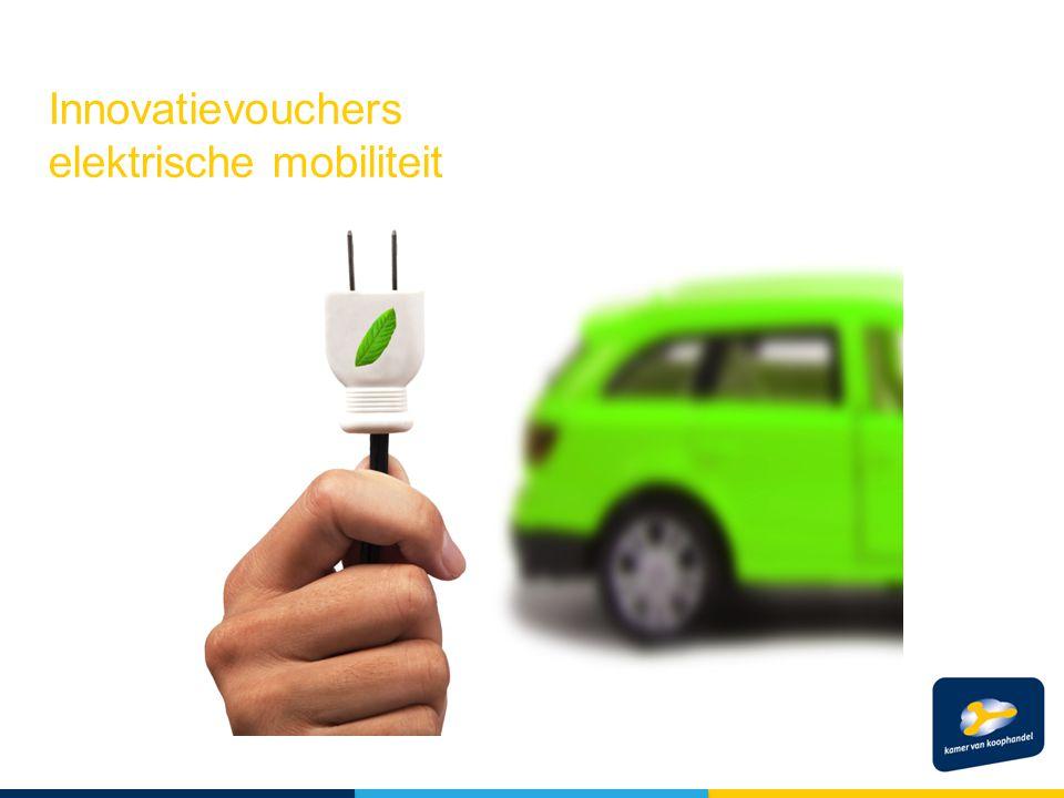 Innovatievouchers elektrische mobiliteit