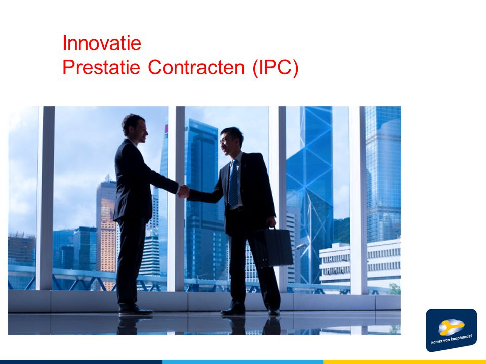 Innovatie Prestatie Contracten (IPC)
