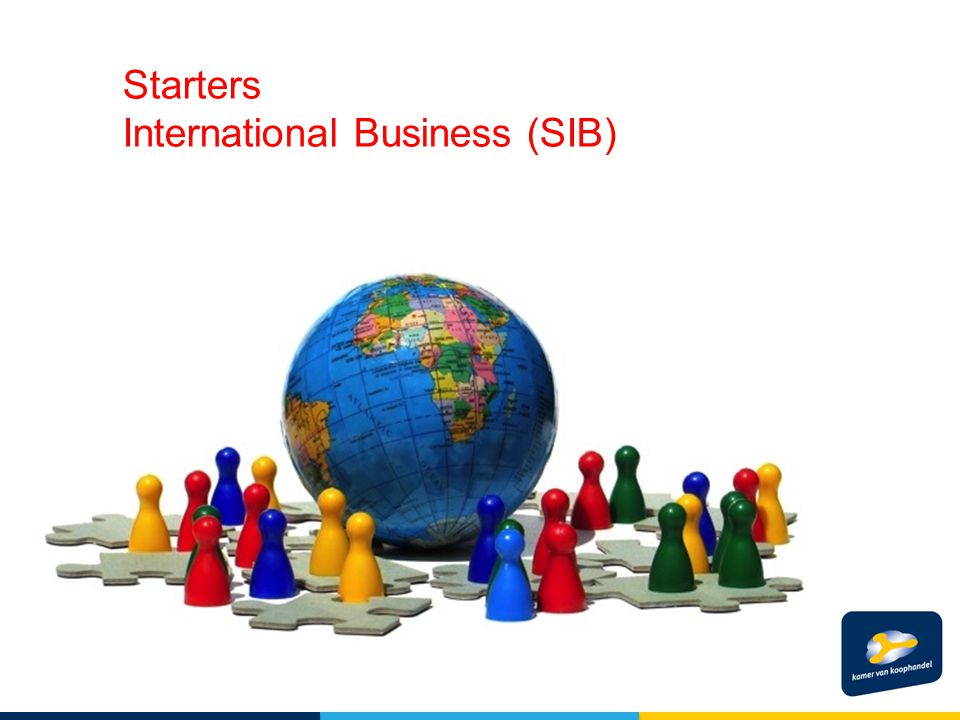 Starters International Business (SIB)