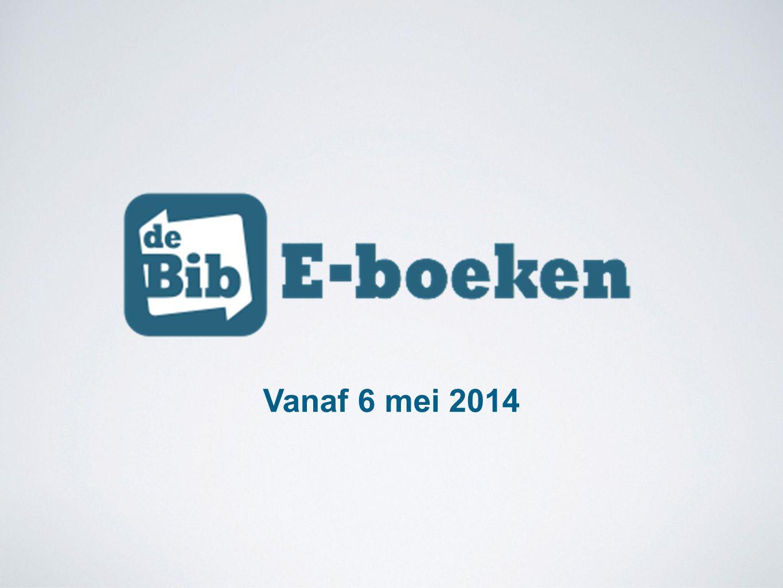 E-boekenkaart : 3 voor 5 Euro Gevarieerd 400-tal titels Gratis lezen binnen de bibliotheek Offline lenen via de app 4 weken uitleentijd via de app Pilootproject van één jaar