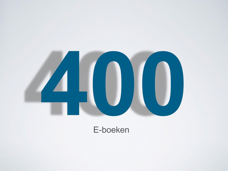 400 E-boeken