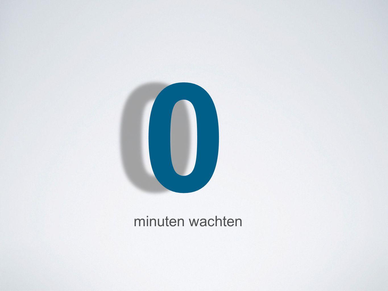 00 minuten wachten
